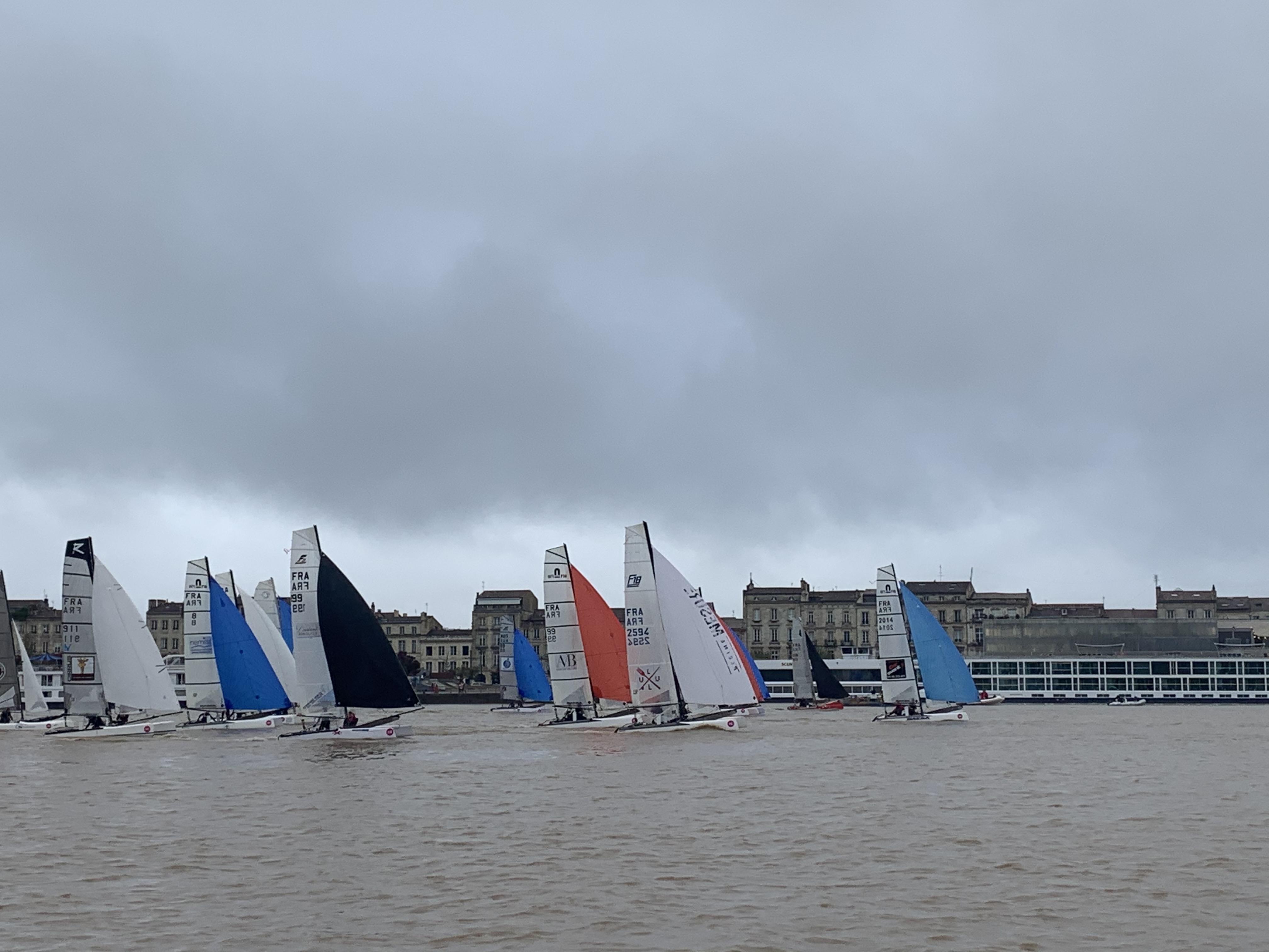 Départ Course Bordeaux Cata Raid