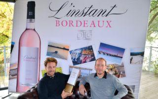 Emmanuel et Eric avec l'Instant Bordeaux