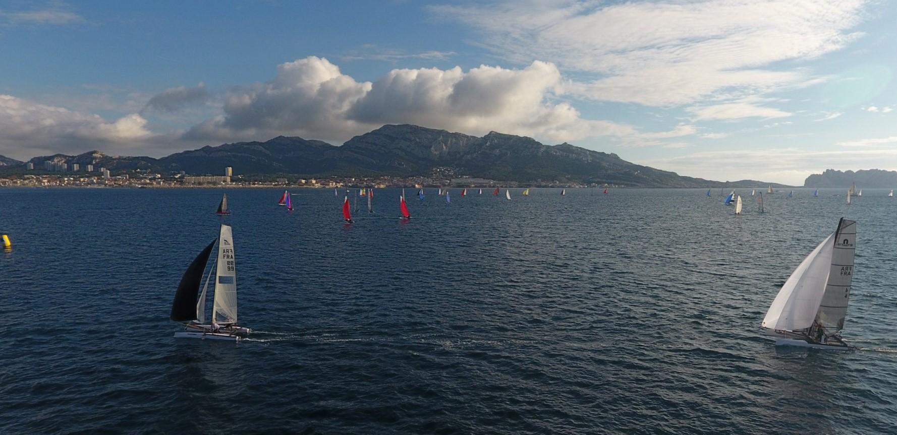 Championnat de France catamarans Marseille