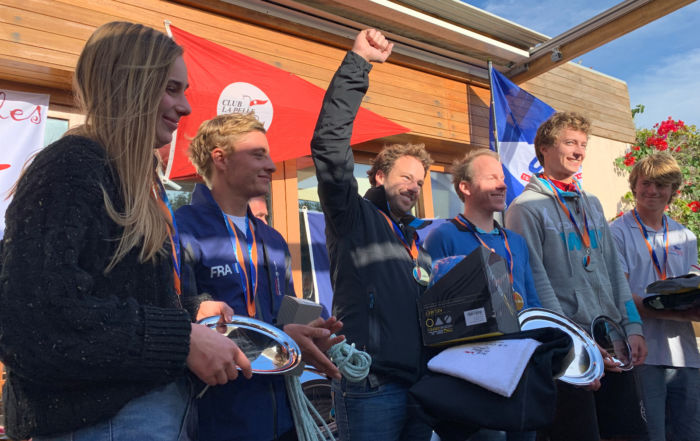 Podium France Catamaran 2019